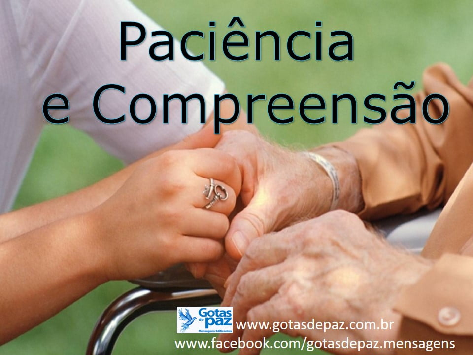 Pacienciaecompreensao